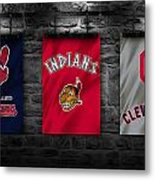 Cleveland Indians Metal Print