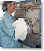 Clinical Research Facility Metal Print