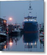 Early Morning In Portland, Maine Metal Print