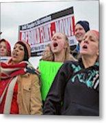 Flint Drinking Water Protest Metal Print