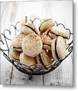French Macaroons Metal Print