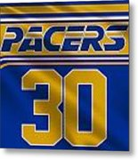 Indiana Pacers Uniform Metal Print