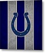 Indianapolis Colts Metal Print by Joe Hamilton