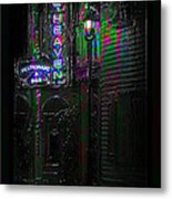 Key West Florida - Blue Heaven Rendezvous Metal Print