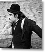 8 - One Last Thing - French Mime Metal Print