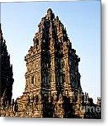 Prambanan Temple In Indonesia Metal Print
