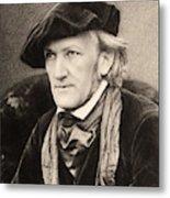 Richard Wagner (1813-1883) Metal Print