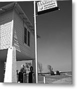 Route 66 - Lucille's Gas Station Metal Print