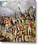 Saratoga: Surrender, 1777 Metal Print