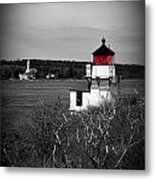 Squirrel Point Lighthouse Metal Print