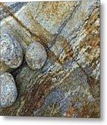 Stones From Verzasca Valley Metal Print
