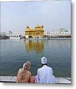 The Golden Temple At Amritsar India Metal Print