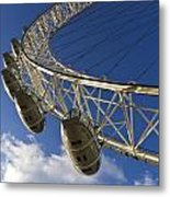 The London Eye Metal Print