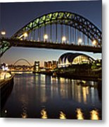Tyne Bridge Metal Print