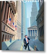 New Yorker September 29th, 2008 Metal Print