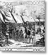 Valley Forge, Winter 1777 Metal Print