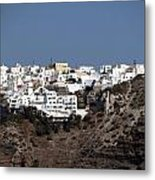 Views From Santorini Greece Metal Print