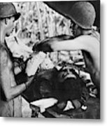 World War II New Guinea Metal Print