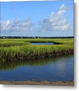Wrightsville Beach Marsh Metal Print
