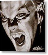 80's Vampire Metal Print by Michael Mestas