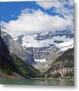 852p Lake Louise Canada Metal Print