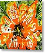 Mann Flowers Metal Print