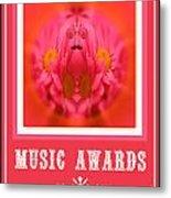 Music Awards Metal Print