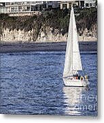 899 Pr Sailing Fun Metal Print