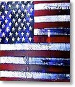9-11 Flag Metal Print by Richard Sean Manning