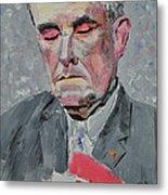 9-11 Mayor Giuliani Metal Print