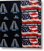 9/11 Memorial For Sale Metal Print