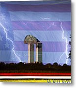 9-11 We Will Never Forget 2011 Poster Metal Print