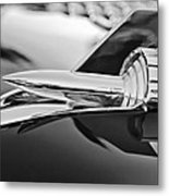 1957 Chevrolet Belair Hood Ornament Metal Print