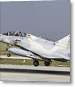 A Qatar Emiri Air Force Mirage Metal Print