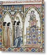 Alfonso X, Called The Wise 1221-1284 Metal Print