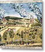 Battle Of Lexington, 1775 Metal Print