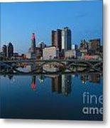 Fx2l-508 Columbus Ohio Skyline Photo Metal Print