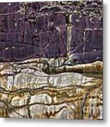 Devonian Slates Metal Print