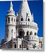 Fisherman's Bastion In Budapest Metal Print