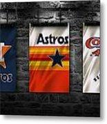 Houston Astros Metal Print