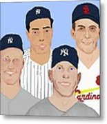9-inning Legends Metal Print