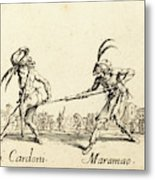 Jacques Callot French, 1592 - 1635 Metal Print