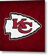 Kansas City Chiefs Metal Print