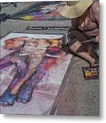 Lake Worth Street Painting Festival Metal Print