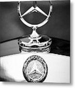 Mercedes-benz Hood Ornament Metal Print
