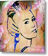 Miley Cyrus Collection Metal Print
