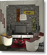 My Art In The Interior Decoration - Elena Yakubovich Metal Print
