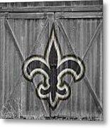New Orleans Saints Metal Print