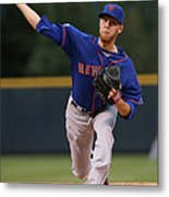 New York Mets V Colorado Rockies Metal Print