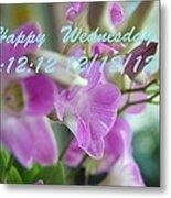 Orchid For You  Metal Print by Gornganogphatchara Kalapun